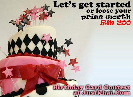 Khai's Birthday Contest
